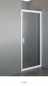 Душевая дверь в нишу Eger 70х80х185 распашная 599-111