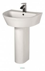 Раковина для ванной на пьедестал с пьедесталом Volle коллекция Nemo белая 13-17-023