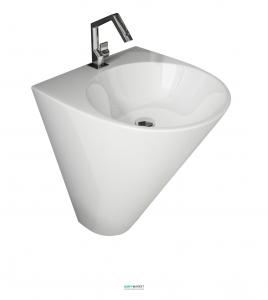 Раковина для ванной подвесная Volle коллекция Olivia белая 13-45-151
