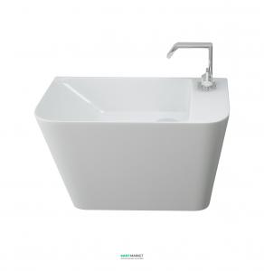 Раковина для ванной подвесная Volle коллекция Teo белая 13-88-601