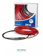 Двухжильный нагревательный кабель Devi DEVIflex 18T 5.5 м.кв 140F1242