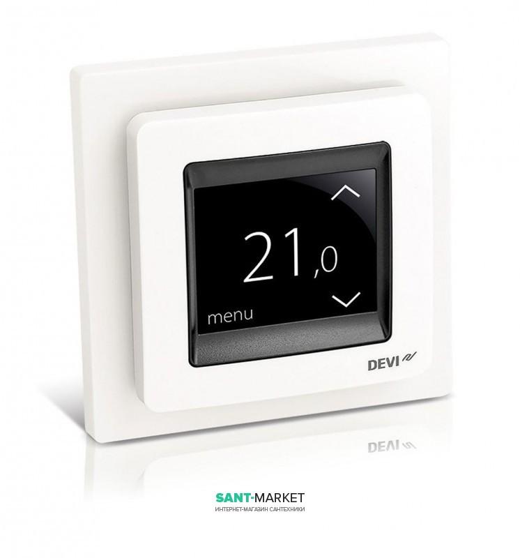 Терморегулятор для теплого пола Devi DEVIreg Touch белый 140F1064