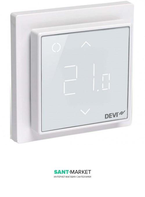 Терморегулятор для теплого пола Devi DEVIreg Smart полярно-белый 140F1140