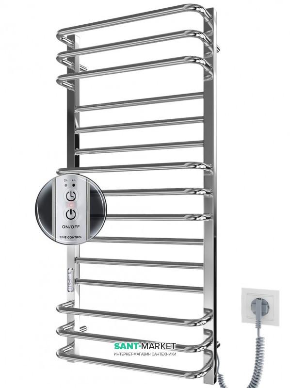 Электрический полотенцесушитель Mario Премиум Люкс-IT 1100x500 с таймером 4820111355068