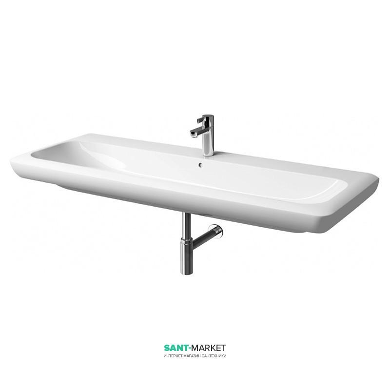 Раковина для ванной на тумбу Kolo Life 130 с покрытием Reflex белая M21130900