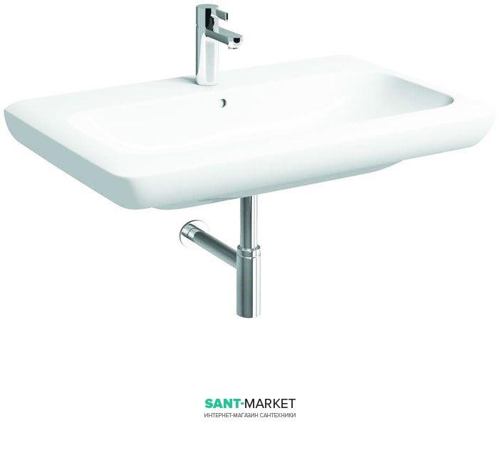 Раковина для ванной на тумбу Kolo Life 80 с покрытием Reflex белая M21180900