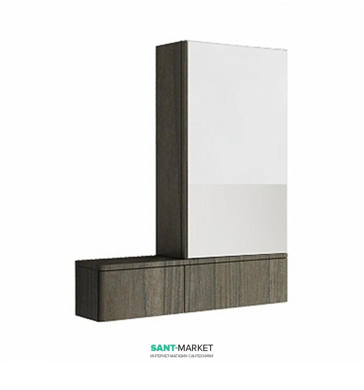 Зеркальный шкаф Kolo Nova Pro 70.8х85 правосторонний серый ясень 88442000