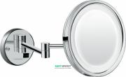 Зеркало для бритья с подсветкой LED Hansgrohe Logis Universal 73560000