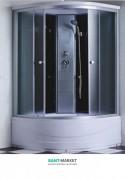 Гидробокс угловой Santeh 100x100x215 c поддоном 6607-1