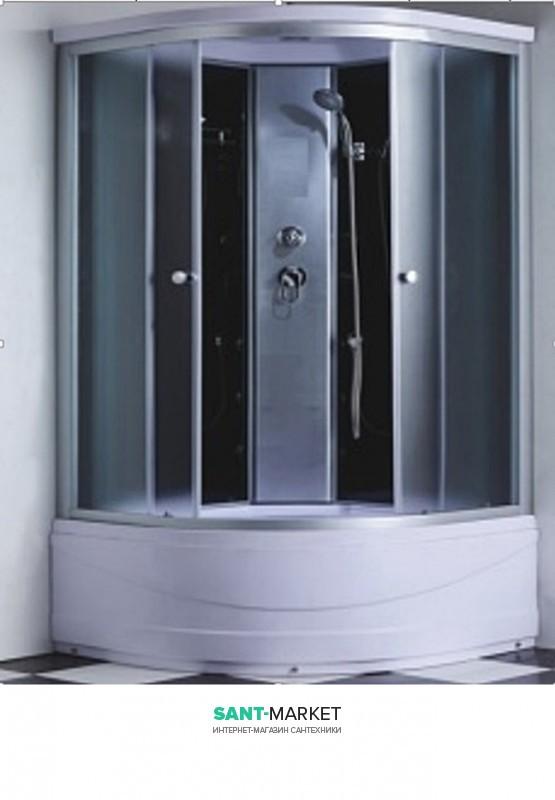 Гидробокс угловой Santeh 90x90x215 c поддоном 6607-9 9