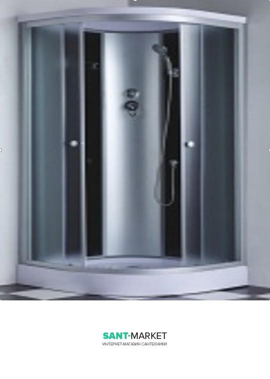 Гидробокс угловой Santeh 90x90x215 с гидромассажем спины 6801-9
