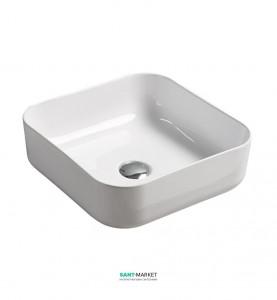 Раковина для ванной накладная Volle белая 13-01-035