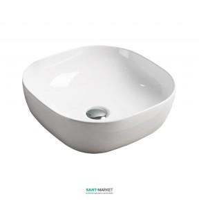 Раковина для ванной накладная Volle белая 13-01-030
