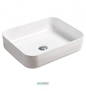 Раковина для ванной накладная Volle белая 13-01-007