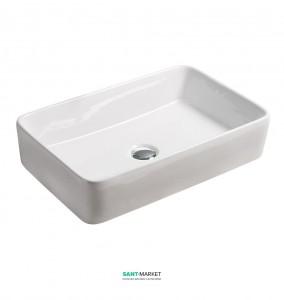 Раковина для ванной накладная Volle белая 13-01-223