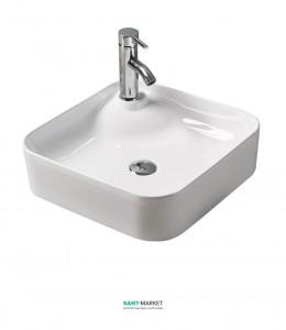 Раковина для ванной накладная Volle белая 13-01-038