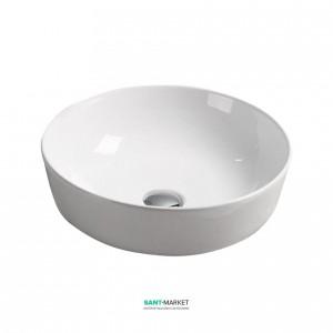 Раковина для ванной накладная Volle белая 13-01-040