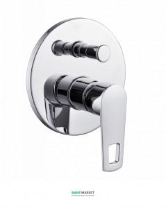 Смеситель для ванны скрытый (встраиваемый) Volle Benita хром 15172200