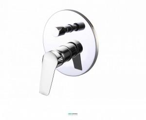Смеситель для ванны скрытый (встраиваемый) Volle Nemo хром 15142200