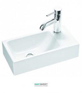 Раковина для ванной подвесная Marmorin Elara 3 белая 410 040 020 xx x