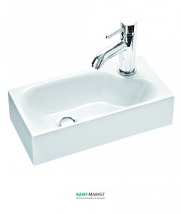 Раковина  для ванной подвесная Marmorin Elara 3 белая 420 040 020 xx x
