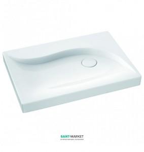 Раковина для ванной на тумбу Marmorin Vala белая 510 071 020 xx x