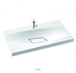 Раковина для ванной на тумбу Marmorin Noel 80 белая 580 080 020 xx x