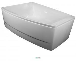 Ванна акриловая асимметричная Volle 170х120х63 белая TS-100/L