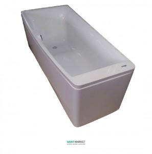 Ванна акриловая асимметричная Volle 170х75х63 белая TS-102/L