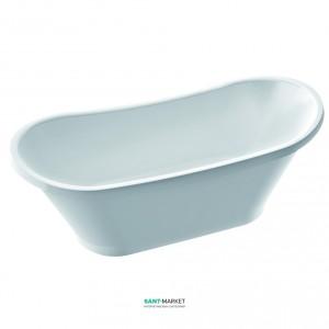 Ванна каменная отдельностоящая Marmorin Pia 160.7x65.3x65 белая 588 160 020 xx x