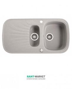 Мойка для кухни прямоугольная Marmorin Oren 1,5k 1o крыло слева, врезная, искусственный камень 180 513 0xx