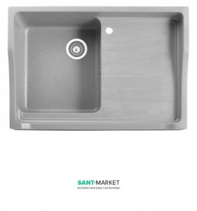 Мойка для кухни прямоугольная Marmorin Rubid накладная, искусственный камень 230 114 0xx