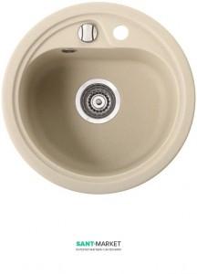 Мойка для кухни круглая Marmorin Vask врезная, искусственный камень 260 803 0xx
