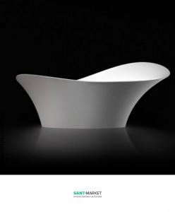 Раковина для ванной накладная Marmorin Alice III белая P 550 067 020 010