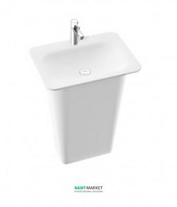 Раковина для ванной напольная Marmorin Tytan белая 650 062 020 xx x