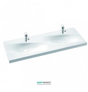 Раковина для ванной на тумбу Marmorin Noel Duet 120 двойная 583 120 020 xx x
