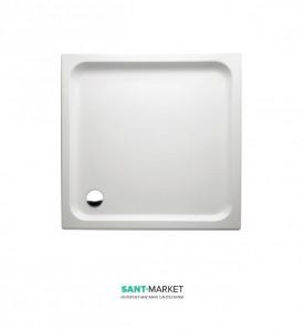 Душевой поддон из искусственного камня Marmorin Ceti 90x90x5.5 белая 180 090 2xx