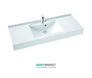 Раковина для ванной подвесная умывальник-столешница Marmorin Larissa белый 301 REG 0xx xx x