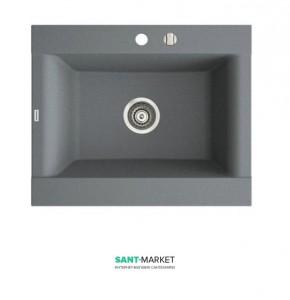 Мойка для кухни прямоугольная Marmorin Voga II 1k врезная, искусственный камень, гранит 712 103 0xx
