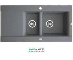 Мойка для кухни прямоугольная Marmorin Voga II 1,5k 1o крыло слева, врезная, искусственный камень 712 513 0xx