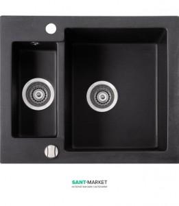 Мойка для кухни прямоугольная Marmorin Bario 1,5k врезная, искусственный камень 120 503 0xx