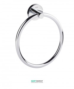 Полотенцедержатель кольцо Grohe Essentials хром 40365001