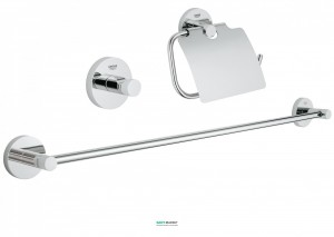 Набор аксессуаров Grohe Essentials 3 предмета хром 40775001