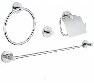 Набор аксессуаров Grohe Essentials 4 предмета хром 40776001