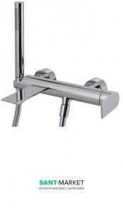 Смеситель однорычажный с душем для ванны Treemme Ran хром 2200CC