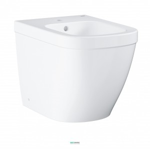 Биде напольное Grohe Euro Ceramic с гигиеническим покрытием альпин-белый 3934000H