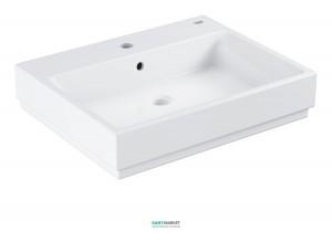 Раковина для ванной накладная Grohe Cube Ceramic 60 альпин-белый 39231000