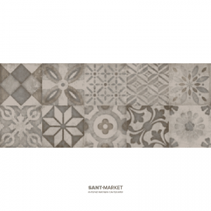 Плитка настенная Argenta Phare Cold Decor 20x50