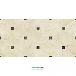 Плитка настенная Navarti Crema Marfil Natural Crown Marfil 25x50