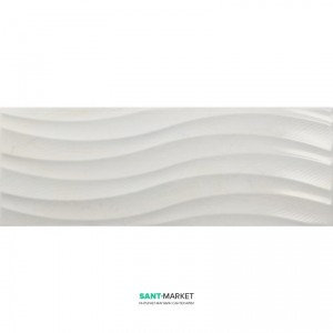 Плитка настенная Navarti Daino Reale Ondas Perla 25x70